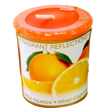 Fragrant Reflection Votive Candle - Citrus Squeeze