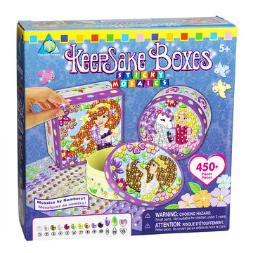 The Orb Factory Sticky Mosaic Keepsake Boxes