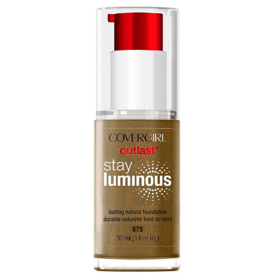 CoverGirl Outlast Stay Luminous Foundation - Soft Sable