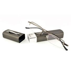 Foster Grant Lexington Reading Glasses - Gunmetal - 2.00