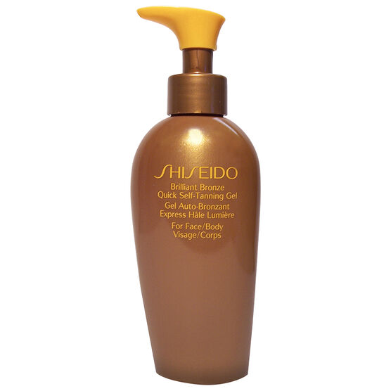 Shiseido Brilliant Bronze Tinted Self-Tanning Gel - 200ml