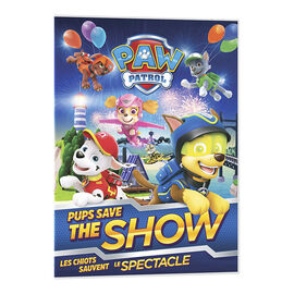PAW Patrol: Pups Save the Show - DVD
