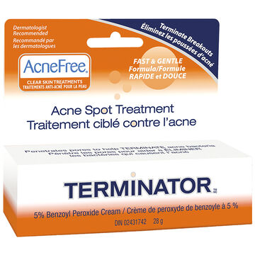 AcneFree Terminator Acne Spot Treatment - 28g