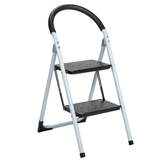 London Drugs Folding 2 Step Ladder - Max 150kg - Assorted