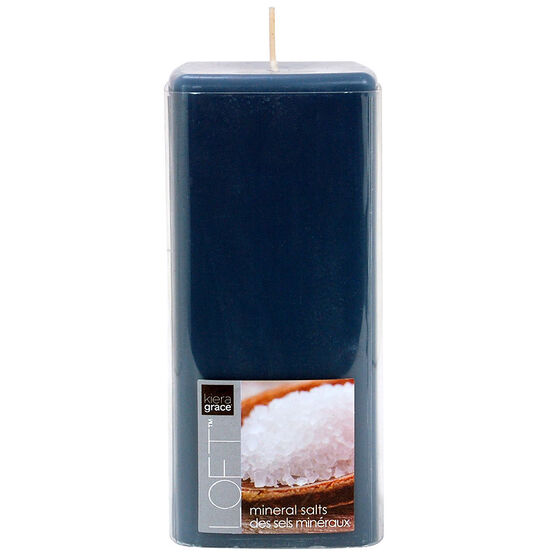 Kiera Grace Loft Pillar Candle - Mineral - 6inch