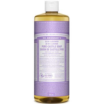 Dr. Bronner's Liquid Pure-Castile Soap - Lavender - 944ml