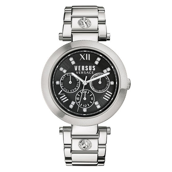Versace Versus Camden Market Ladies Watch - Silver/Black - SCA010016