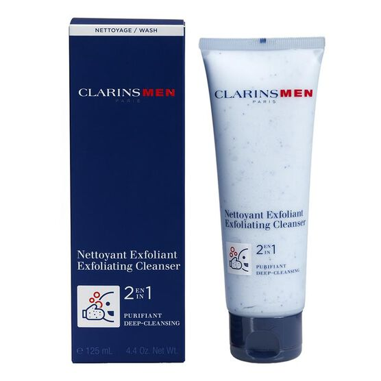 ClarinsMen Exfoliating Cleanser - 125ml