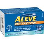 Aleve Back & Body Liquid Gels - 220mg - 52's