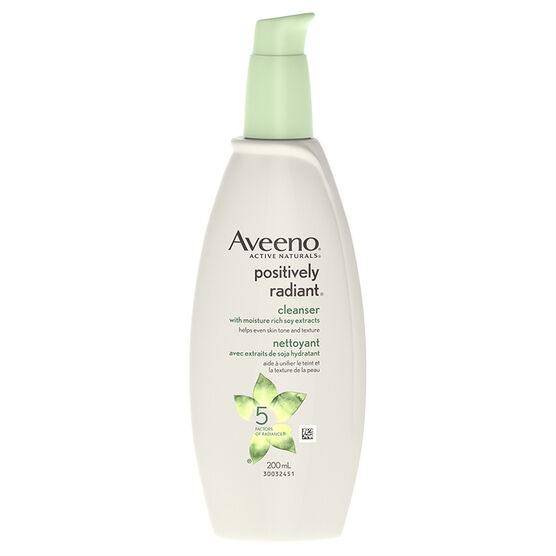 Aveeno Positively Radiant Cleanser - 200ml