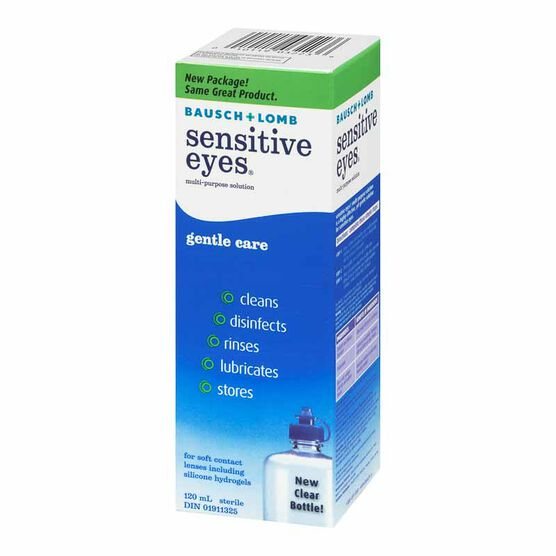 Bausch & Lomb Sensitive Eyes Multi-Purpose Solution - 120ml
