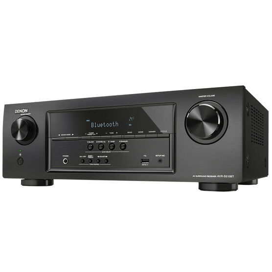 Denon 70W 5.2 Channel Receiver - Black - AVRS510BT