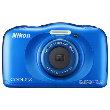 Nikon Coolpix S33 - Blue - 32194