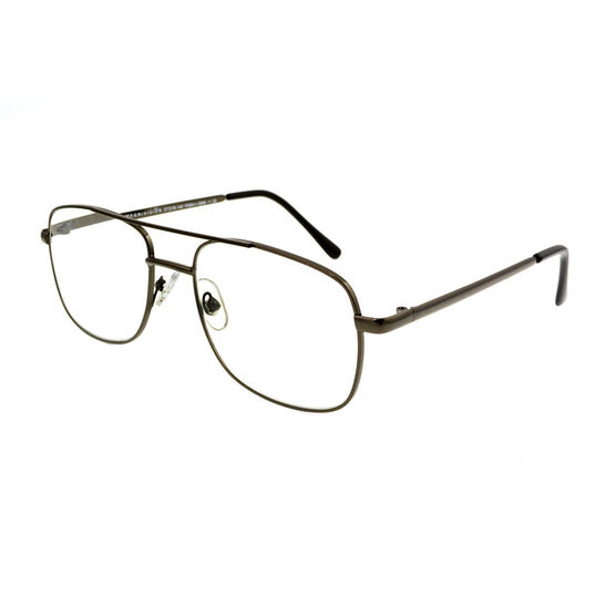 Foster Grant RR 51 Reading Glasses - Gunmetal - 2.00