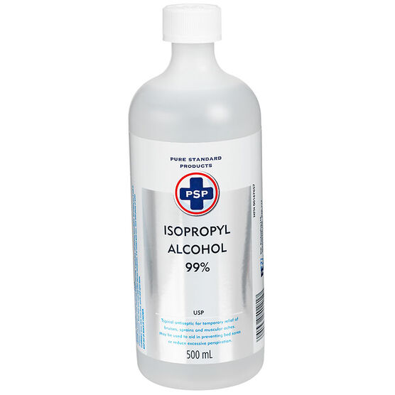 PSP Isopropyl Alcohol 99% - 500ml