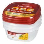 Rubbermaid Easy Find Lids Food Storage Containers - Value Pack - 3 piece
