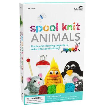 Spicebox Spool Knit Animals Kit