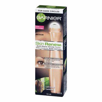 Garnier Skin Naturals Caffeine Anti-dark Circles 2-in-1 Tinted Eye Roll-on - 15ml