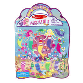 Melissa & Doug Puffy Stickers Play Set - Mermaid - 19413