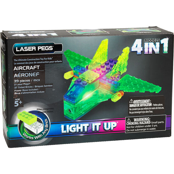 Laser Pegs Aircraft Kit