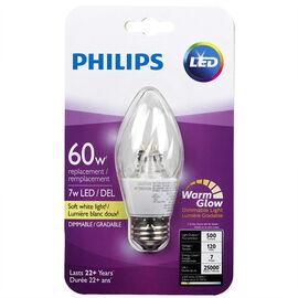 Philips Post F15 LED Light Bulb - Soft White - 7w/60w