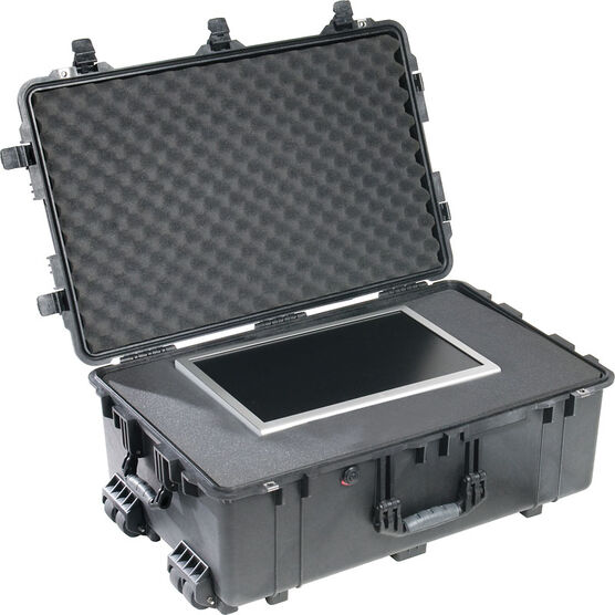 Pelican 1650 Case with Foam - Black - 1650-020-110