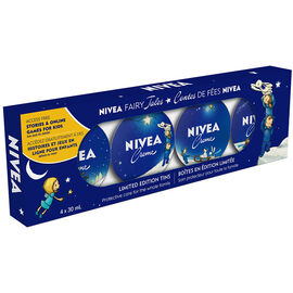 Nivea Creme Fairy Tales Limited Edition Tins Gift Set - 4 x 30ml