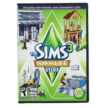 PC EA Sims 3 Town Life Stuff