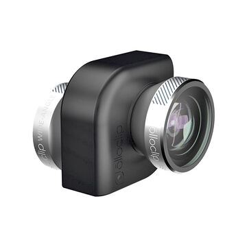Olloclip 4-in-1 Lens for iPad - Silver/Black - OCEU-IPA-FW2M-SB