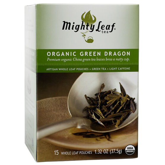 Mighty Leaf Tea - Organic Green Dragon - 15's