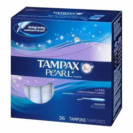 Tampax Tampons Pearl Lites - Regular - 36's