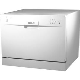 RCA Countertop Dishwasher - White - RDW3208