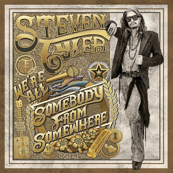 Steven Tyler - We're All Somebody From Somewhere - CD