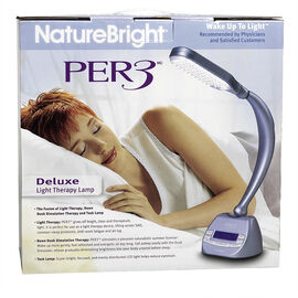 Nature Bright Per3 Deluxe Light Therapy Lamp