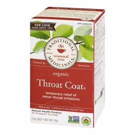 Traditional Medicinals Herbal Tea - Organic Throat Coat - 20's