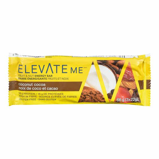 Elevate Me Bar - Cocoa Coconut Cluster - 66g