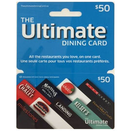 Cara Ultimate Dining Gift Card - $50