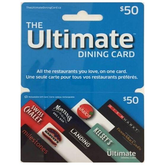 Cara Ultimate Dining Gift Card - $50