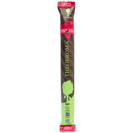 Theobroma Chocolat Stick - 60% Dark Chocolate with Raspberries - 35g