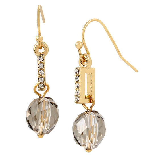 Haskell Drop Earrings - Gold
