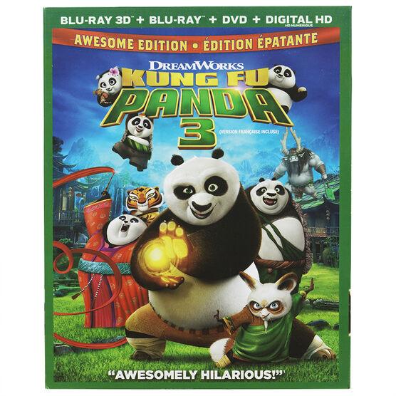 Kung Fu Panda 3 - 3D Blu-ray