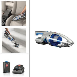Hoover Air Cordless Hand Vac - Blue/Grey - BH52160CA
