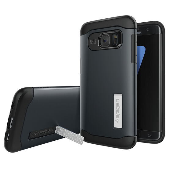 Spigen Slim Armor Case for Galaxy S7 - Metal Slate - SGP555CS20024