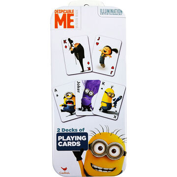 Despicable Me Playing Cards - 2 pack