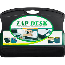 Lap Desk with Microbead Wrist Rest