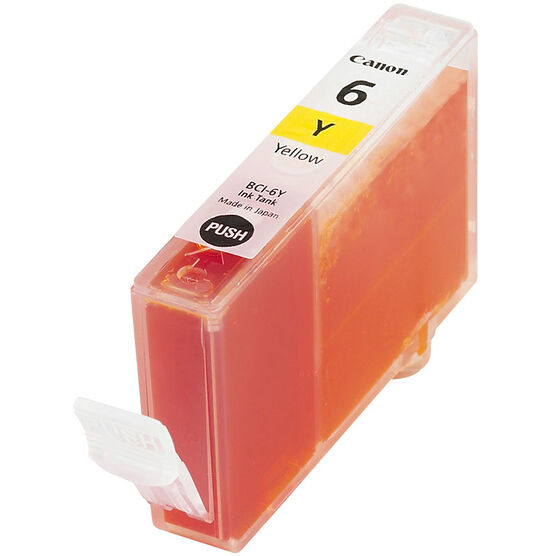 Canon BCI-6Y Photo Ink Tank - Yellow - 4708A003