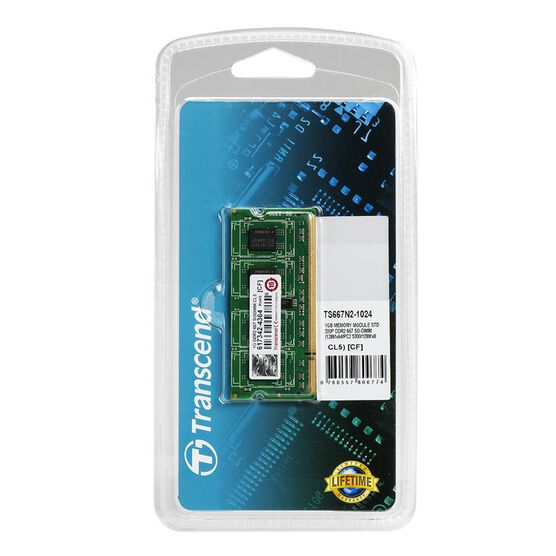 Transcend 1GB SO-DDR2 PC667 - TS667N2-1024