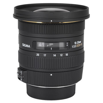 Sigma EX DC 10-20mm F3.5 HSM Lens for Nikon