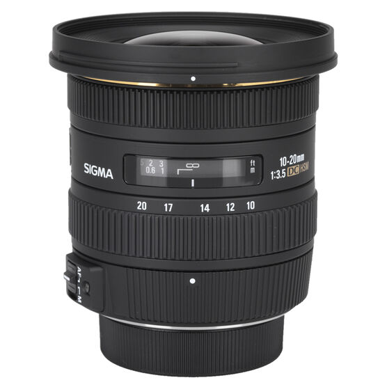 Sigma EX DC 10-20mm F3.5 HSM Lens for Nikon