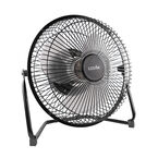 Logiix Retro Fan Go-Cordless - Black - LGX-12174